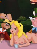 Alice always wanted to live a wild sexual experience and have sex with many bizarre creatures at the same time