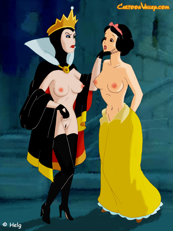 Disney Snow White Bondage