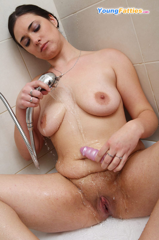 Cute Teen Girl Caught Shower