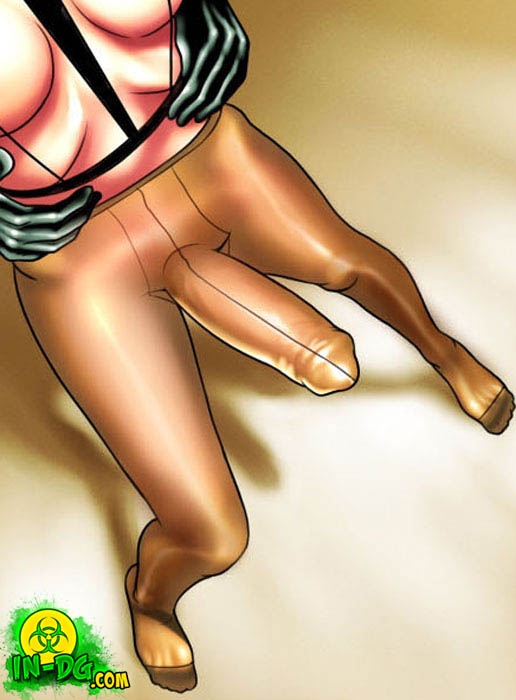 shemale pantyhose cartoons