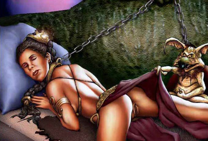 PRINCESS LEIA JABBA CARTOON PORN