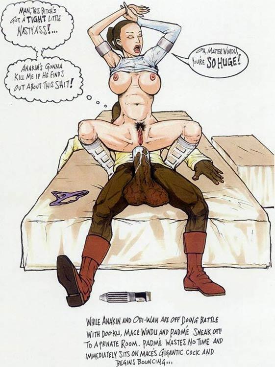 Star Wars Nude Cartoon