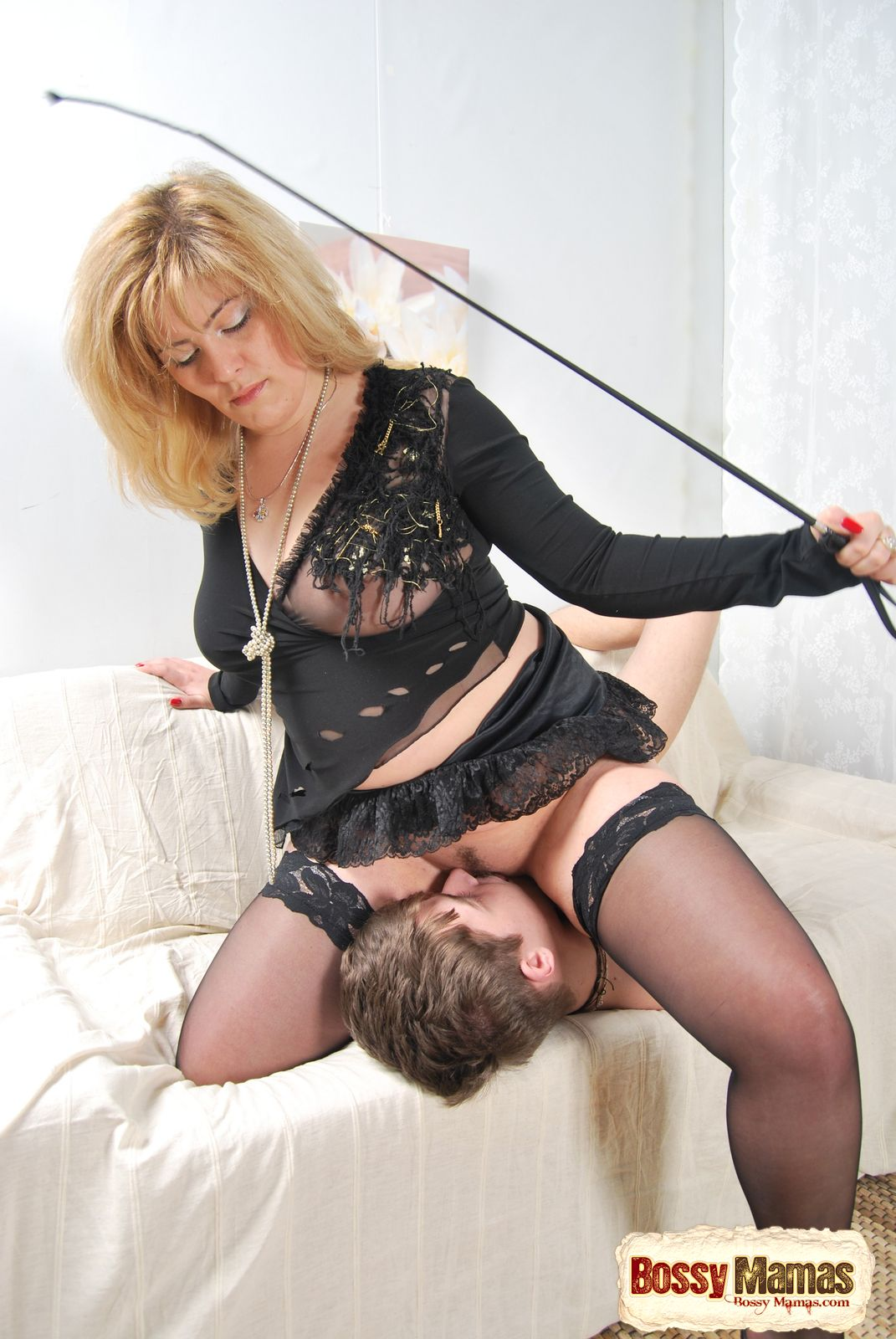 Mature dominates boy video